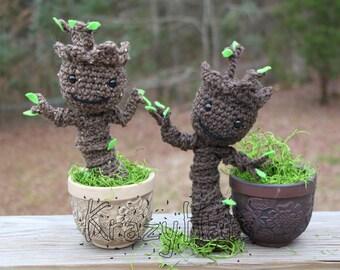 Baby Groot.Crochet baby groot.