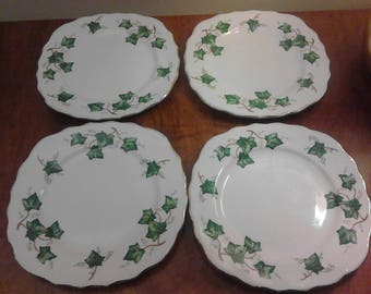 Colclough ivy leaf bone china tea plates