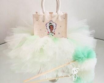 Tiana princess tutu bag