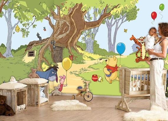 Winnie the Pooh Wall mural Wallpaper Wall décor Wall decal