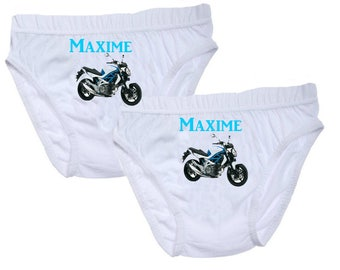 Pants boys bike personalized with name
