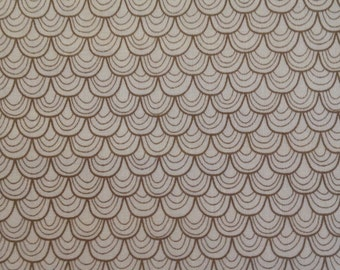 Sale! Scallops in Taupe for Riley Blake Designs