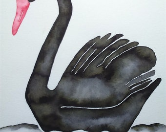 Black Swan illustration