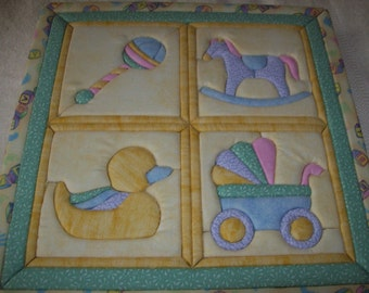 Quilted Baby Wall Hanging