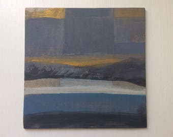 Golden Light - Little Painting - Fiona Charis Carswell 'Straight From the Studio' - RiverRunning