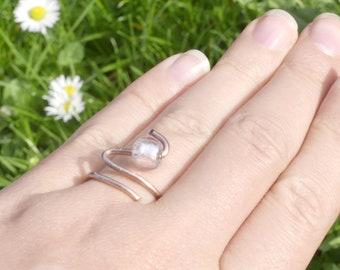 Elegant ring, homemade