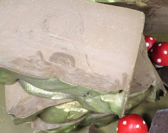 Brownie Handcrafted Soap, Handmade, Phthalate Free, Cold Process, Chocolate, Fudge, Brownies, Fantasy, Fairy Tale, Folklore