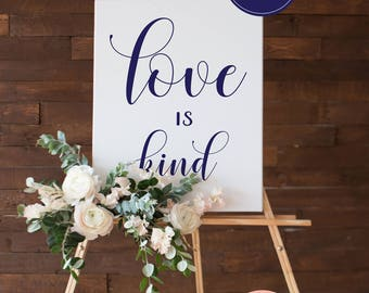 Wedding Signs Set of 8 •Scripture Poster • 1 Corinthians 13 • Love is Patient, Love is Kind, Love Never Fails • Aisle Signs • 8x10, 16x20
