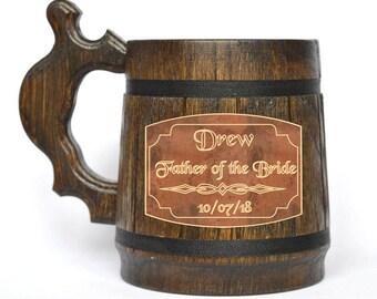 Groomsmen Beer Mug - Personalized Beer Mug - Groomsmen Beer Mug Gift - Groomsmen Mug - Engraved Beer Mug