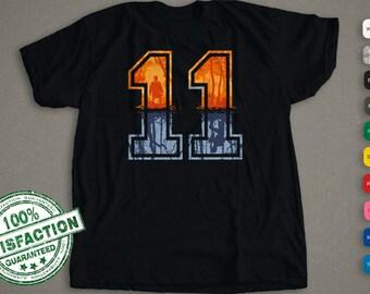 Stranger Things Inspired   Eleven T-Shirt   11 Shirt  