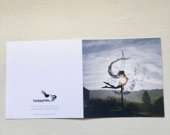 YinYang, Fairy greetings card by FantasyWire