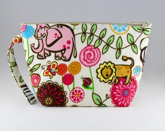 Out of Africa Makeup Bag - Accessory - Cosmetic Bag - Pouch - Toiletry Bag - Gift