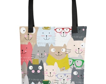 Nerdy Cats Tote bag