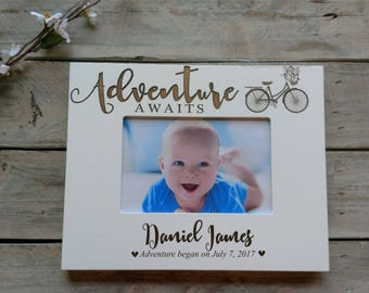 Personalized Baby Picture Frame, Personalized Baby Frame, Newborn Baby Gift, Engraved Newborn Gift, Engraved Baby Gift, Baby Shower Gift