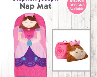 Princess Nap Mat, Stephen Joseph Nap Mat, Toddler Nap Mat, Toddler Princess Blanket, Princess Sleeping Mat, No Zip Sleeping Bag
