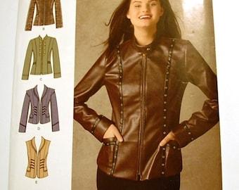 LAST CHANCE SALE - Simplicity 0471 - Misses Jacket Pattern - Size 6, 8, 10, 12, and 14 - Uncut