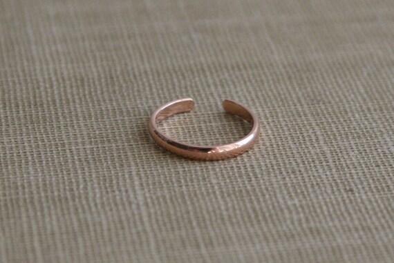 14K Rose GoldFilled Half Round Ear Cuff Faux Piercing