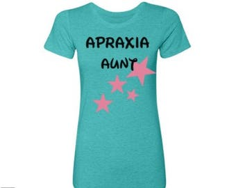 Apraxia Shirt, Apraxia Awareness Apraxia Aunt Momma Bear Mama Bear