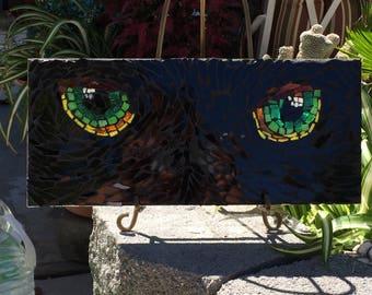 Mosaic Cat Eyes