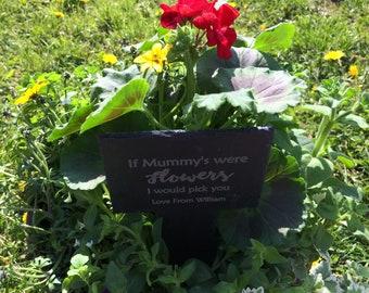Personalised garden labels