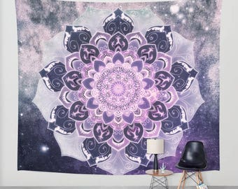 FREE YOUR MIND Mandala -  Bohemian Wall Tapestry