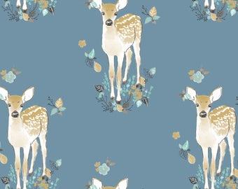 Woodland Baby Bedding - Fawn Crib Sheet / Nursery Bedding / Changing Pad Covers / Babyletto Mini Crib Sheets /Baby Sheet Deer Nursery Set