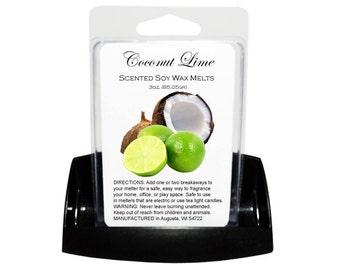 COCONUT LIME // Wax Tarts // Soy Tarts // Candle Tarts // Melting Tarts // Scented Tarts