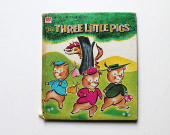 The Three Little Pigs Tell A Tale Book 1959