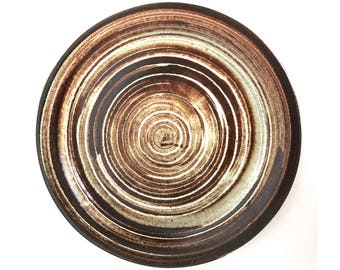 Gordon & Jane Martz, Marshall Studios Ceramic Platter 1960's