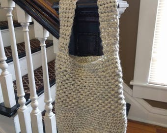 Crocheted Market Tote - Medium