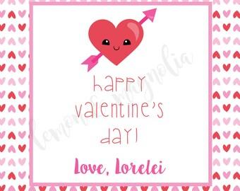 Heart Valentine Tag