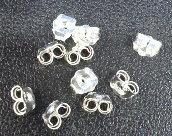 5 mm Sterling Earnuts Pack of 10