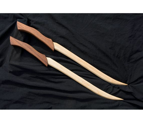 Legolas' Knives Lord of the Rings Handmade Wooden