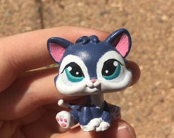 Lps baby kitty #2204 OOAK