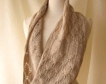 Birchleaf Cowl Knitting Pattern PDF