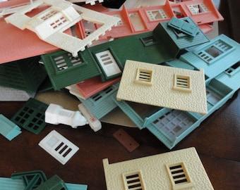 Plasticville Building Parts