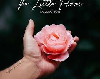 Temporary Tattoos   The Little Flower Collection   St. Thérèse of Lisieux Tattoos