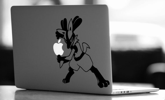 Lucario vinyl decal