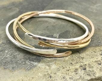 Adjustable Cuffs, Sterling Silver Bracelet, Gold Bracelet, Rose Gold Bracelet, Silver Cuff, Gold Cuff, Rose Gold Cuff, Metal Bangles