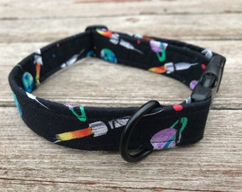 """Handmade Dog Collar - """"Out of This World"""""""