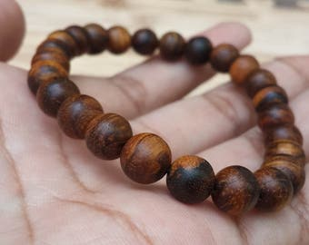 bracelet zebra agarwood 8 mm