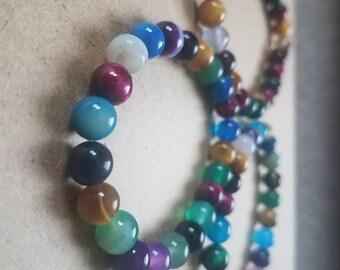 Random mix beads bracelet