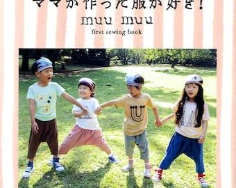 Muu Muu First Sewing Book for Kids - Japanese Craft Book
