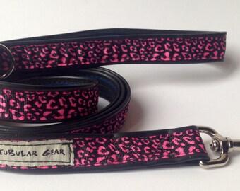 Hot Pink Cheetah Print Leash