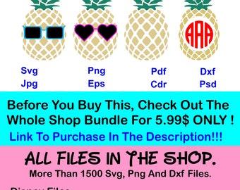 70% OFF, Commercially Usable Pineapple Monogram Svg, Pineapple Svg, Pineapple Frames. Png, Dxf, Pdf, Ai, Eps, Circle Monogram Frame, Cricut