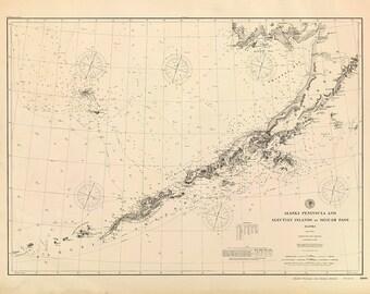 Alaska Peninsula & Aleutian Islands –1896