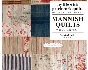 MANNISH QUILTS manish quilt cool and simple - Japanese Craft Book