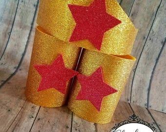 Superhero Tiara & cuffs   Multiple Colors   Superhero   Newborn-Adult listing