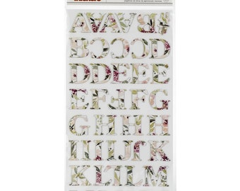 Pink Paislee - Auburn Lane Collection - Thickers - Printed Chipboard - Embellish Your Bible Journaling