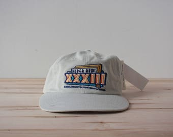 Super bowl 33 Miami Florida strapback hat